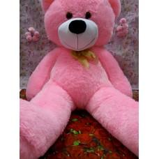 мишка 145 см розовый