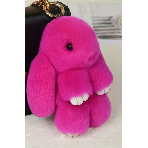 Заяц 13см фиолетовый