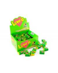 Жуйки Love is яблуко-лимон (упаковка 100шт)